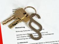 Mietverträge und Kaution