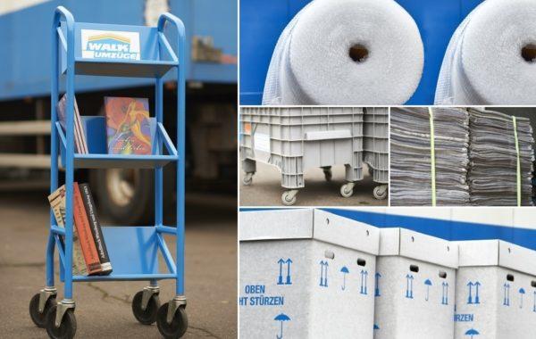 Verpackungsmaterial ausleihen / kaufen